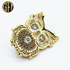 High Quality Different Styles Owl Custom Gold Metal Lapel Pin