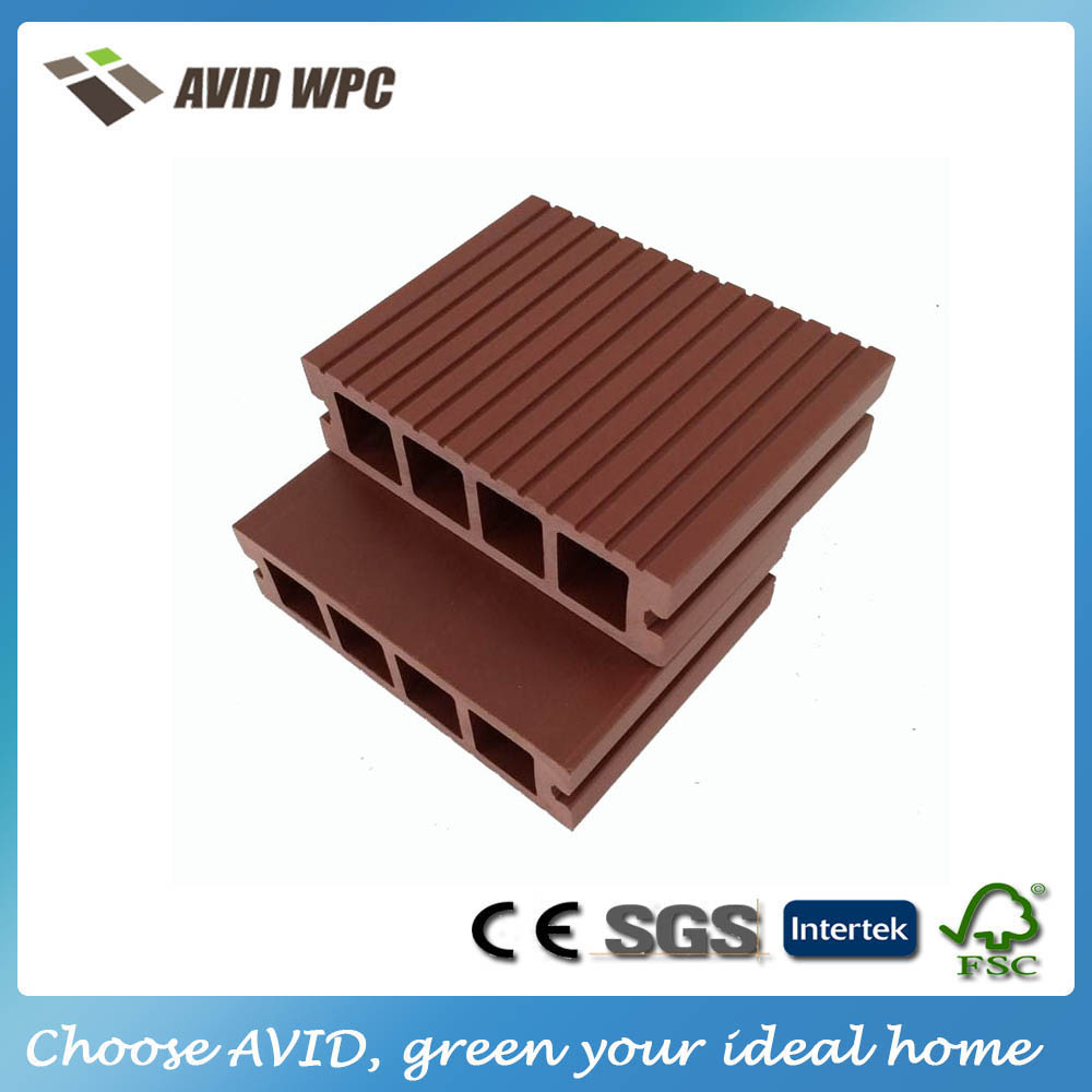 Different size and cheap price wood plastic deck boards/outdoor composite timber decking for sale