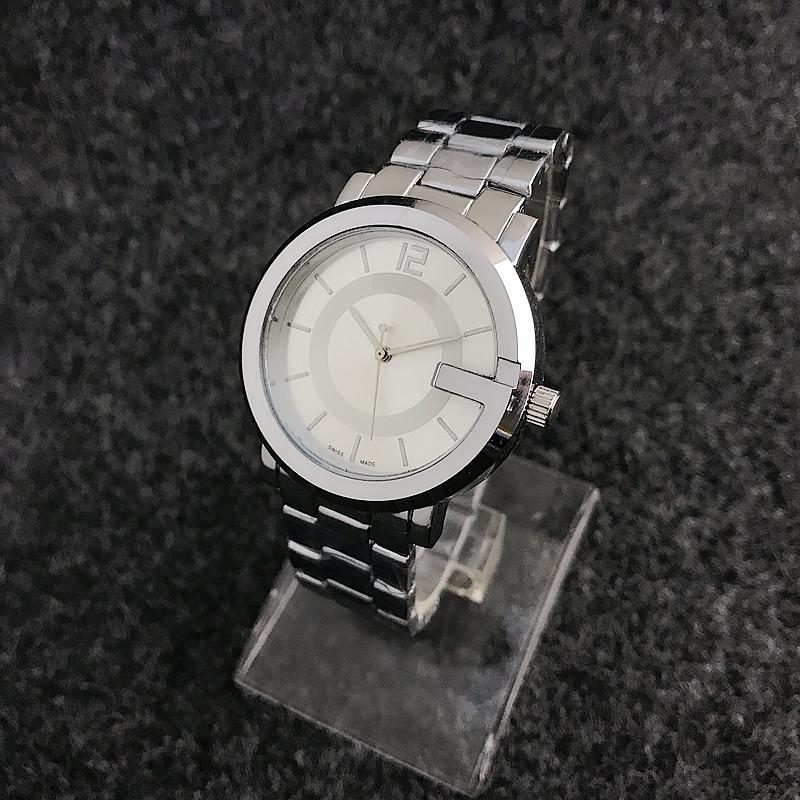 aa5ecf8f64658 Japão Movt Quartzo Relógio de Aço Inoxidável Prata Famosa Marca Relógios de  Pulso Feminino Logotipo Personalizado