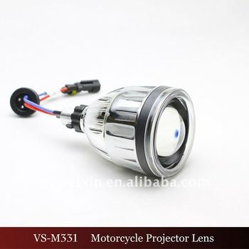 2.5inch High/low Beam Lights Motorcycle Hid Projector Lens
