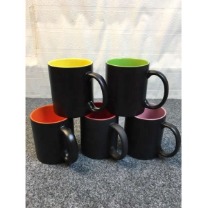 Yiwu 11oz colorful inner heat color changing mug