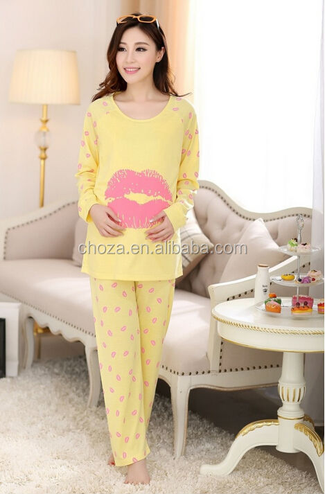 C24876A WHOLESALE PREGNAT MOTHER MATERNITY SLEEPWEARS