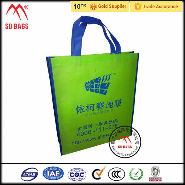 Popular Promotional tote shopping bag , recyclable shopping cotton bag