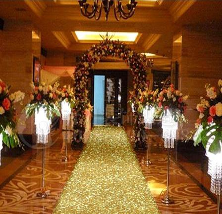 Aisle Runner For Wedding.Us 199 2 20 Off 20 M Per Roll 1m Wide Gold Pearlescent Wedding Carpet T Station Aisle Runner For Wedding Party Decoration Props Supplies In Party