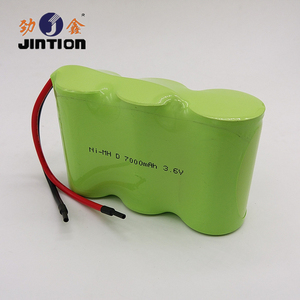 LED Application using Rechargeable battery pack NiMH D 7000mAh 3.6v