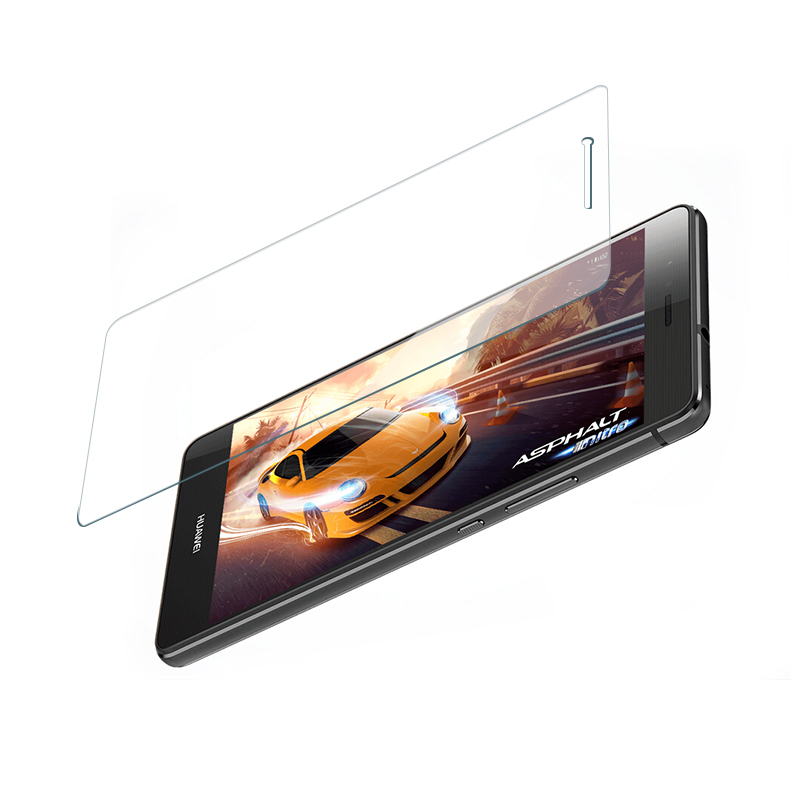 0.15/0.2/0.33mm thick tempered glass screen protector for huawei p9 lite mobile phone