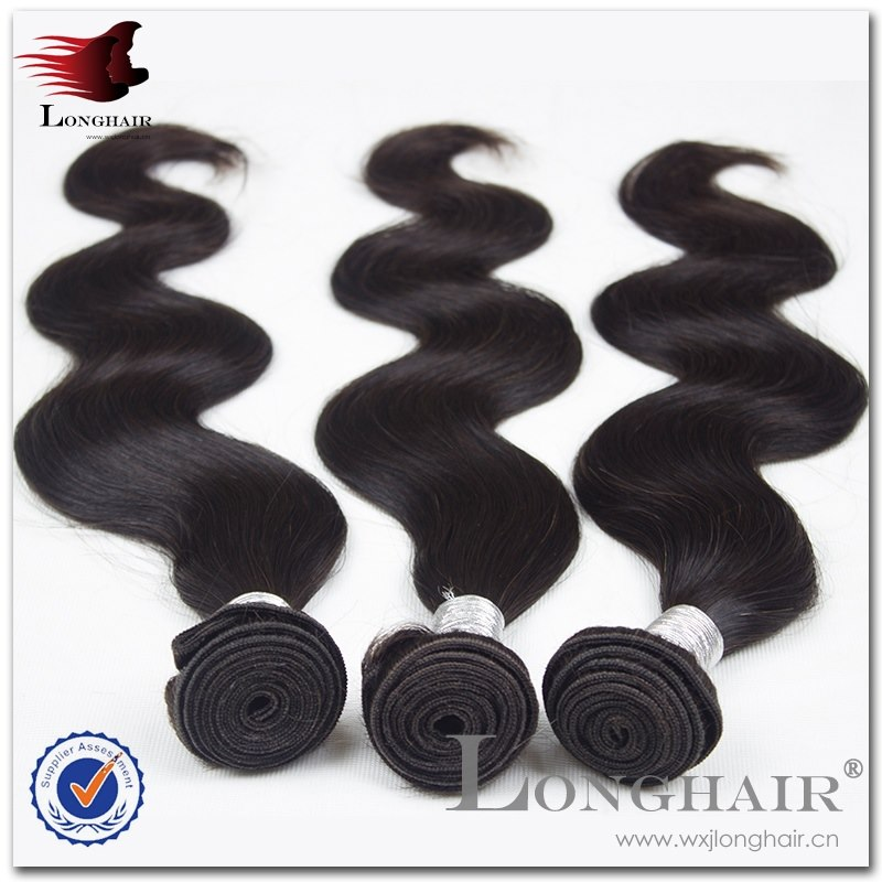 Full Flexibility And Easiness Perfect Texture natural colour indian virgin remy body wave hair extension