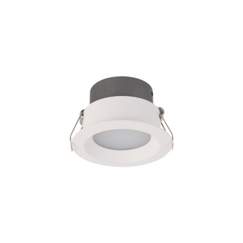 Indoor modern dimmable trimless round recessed anti glare mini cob ceiling follow led spot light