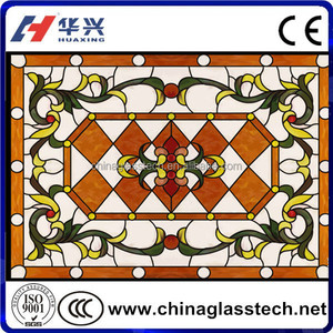 CE/CCC/ISO Certificate Customized Decorative Tiffany Style Stained Glass