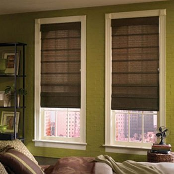 100% polyester fabric daylight cord curtains blinds roman