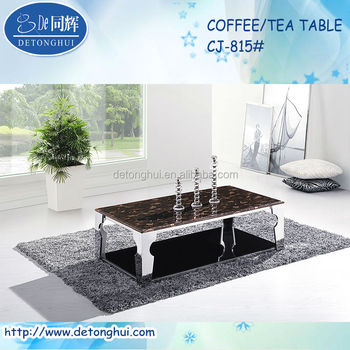 Attractive Shanghai Commercial Furniture Lounge Acrylic Sofa Side Table CJ815