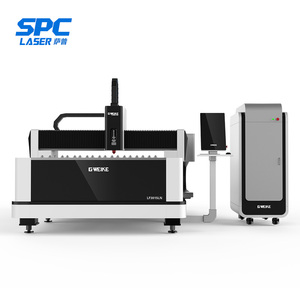 China 3mm stainless steel fiber 500w metal laser cutting machine jq-1530