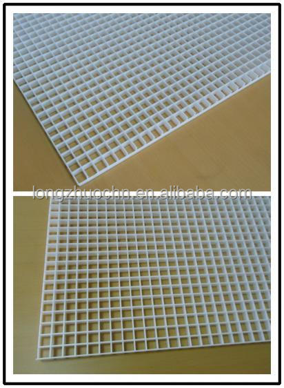 Plastic Mesh Grill Air Diffuser Polystyrene Egg Crate