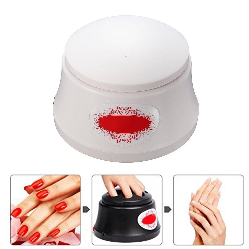 BlueTop Gel Nail Polish Acrylic Steamer Remover Portable Nail Resurrection Harmless Machine Nail Art Tools (Electric,White)
