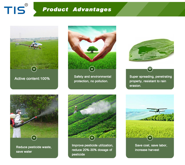 Silicone synergist agricultural adjuvants pesticide additive super spreading agent