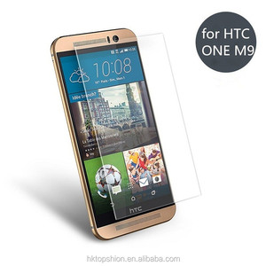 Premium Tempered Glass Screen Protector for HTC ONE M9 M8 M7 - Transparent (0.33mm HD Ultra Clear)