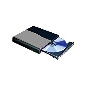 I/OMagic IDVD8PB2 - Disk drive - DVD±RW (+R DL) - 8x - USB - external - 5.25 Slim Line - black by I/OMagic