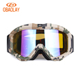 New OBAOLAY Brand Ski Goggles Double Lens UV400 Anti Fog Light Ski Mask Glasses Skiing Eyewear
