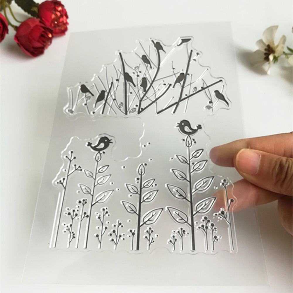 11*16cm stamp used for scrapbooking card transparent clear stamps