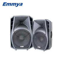 Outdoor 12 inch plastic speaker box or cabinet has perfect sound