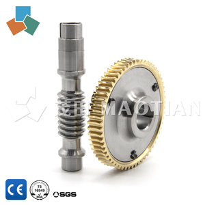 2018 trending products customized worm gear set 6156 6157 for fitness equipment / differential gear material