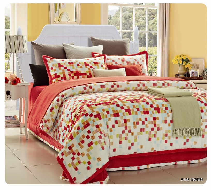 Adult Age Group and Printed Style bedding set quilt comforter set
