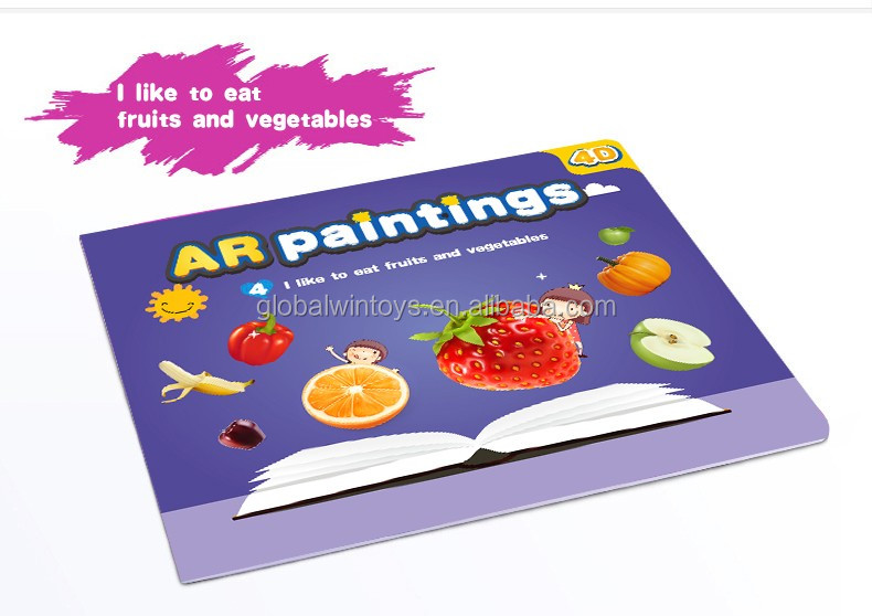 3D Coloring Book New Drawing AR Funny Painting
