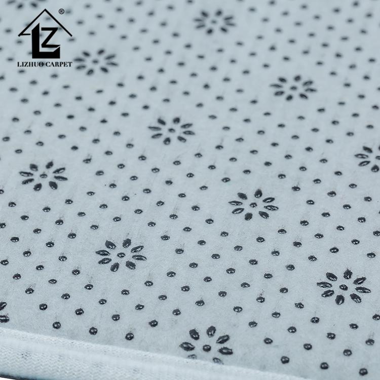 100% Polyester Fabriek Directe Verkoop Plain Color Change Badkamer Set Tapijten