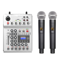 Cheap sound system equipments dj mixer music and with microphone