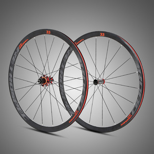 700C Offset Disc Brake Aluminum Clincher 33MM Bicycle Wheel