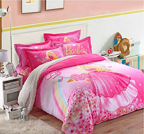 Online Get Cheap Barbie Bedding Set Aliexpress Com