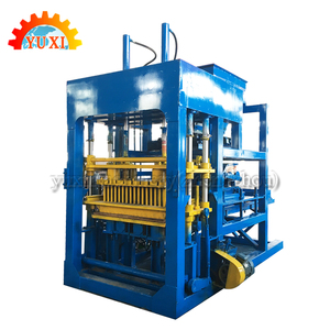 Profitable Small Business Machinery!Machine For Making Brick Ecological Automatically Interlocking Concrete Block Making Machine