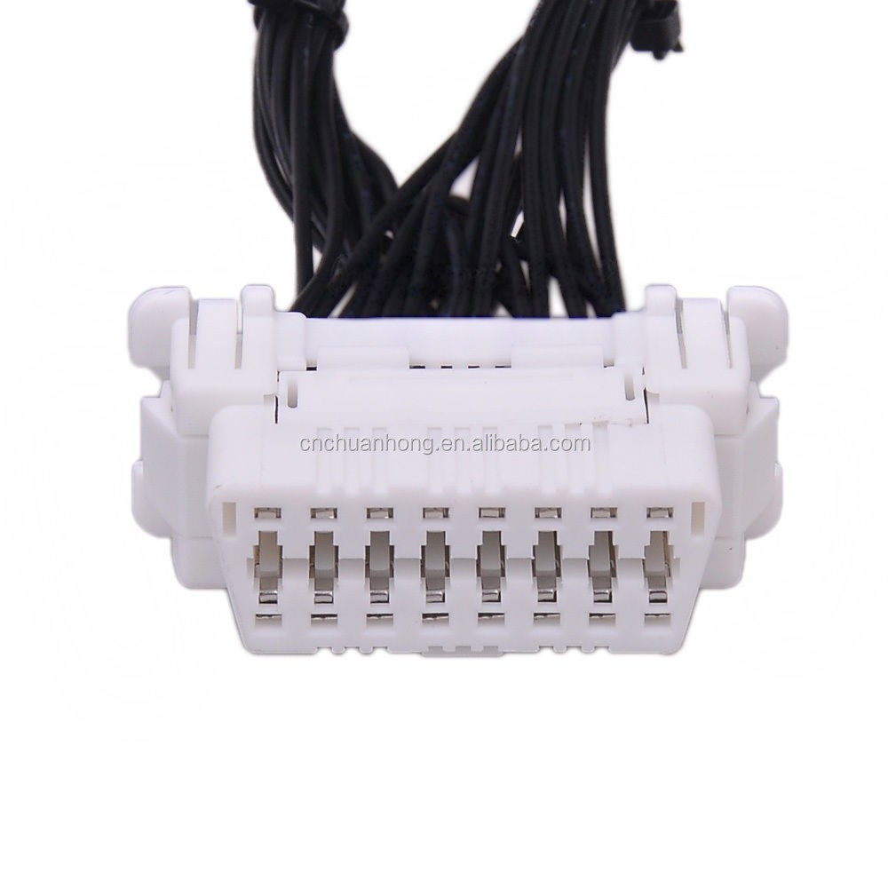 16 Pin To 6 J1708 Cable Adapter For Auto Diagnostic Ds150e Obd2 Wire Harness Shipping S L1600