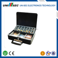 SMALL MONEY SAFE CASE, CASH BOX, PORTABLE CASH SUITCASE FOR MONEY
