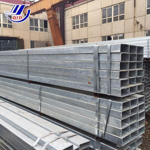 Pre galvanized Rectangular steel pipe square steel tubing strength