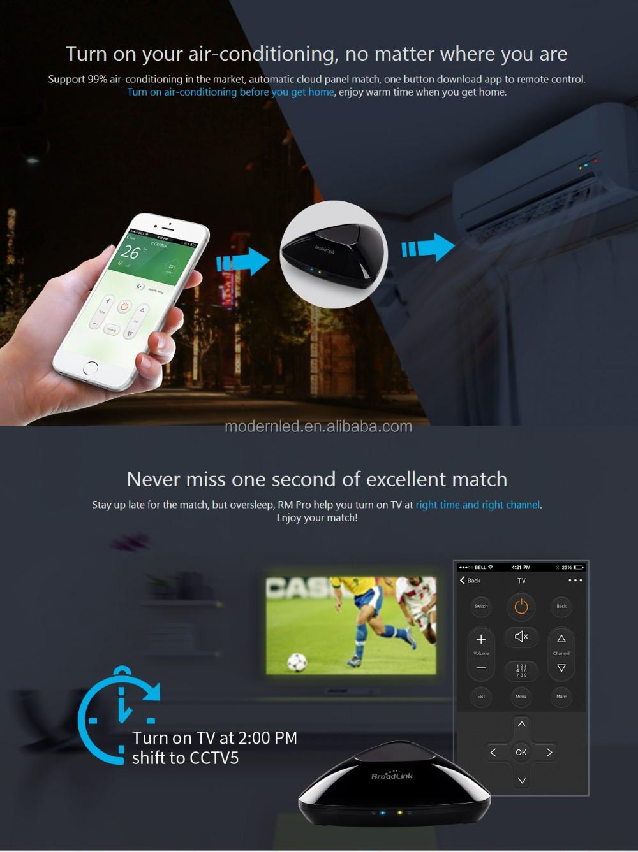 Broadlink Rm3 Rm Pro Mini 3 Black Bean Smart Home Automation Universal Wifi  Switch Wifi/ir/rf Controller Domotica Rm03 Rm Pro - Buy Broadlink Rm