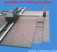 dezhou aluminum portable cnc flame /plasma cutting machine bxz0214