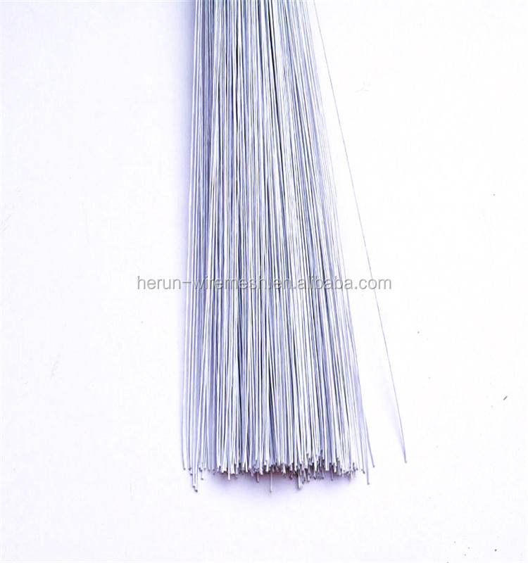 White Florist Stub Stem Floral Wire #18/ 20/ 22/ 24/26/ 28/ 30 Gauge ...
