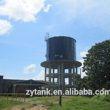 High strength large size steel water storage tank Environmental protection
