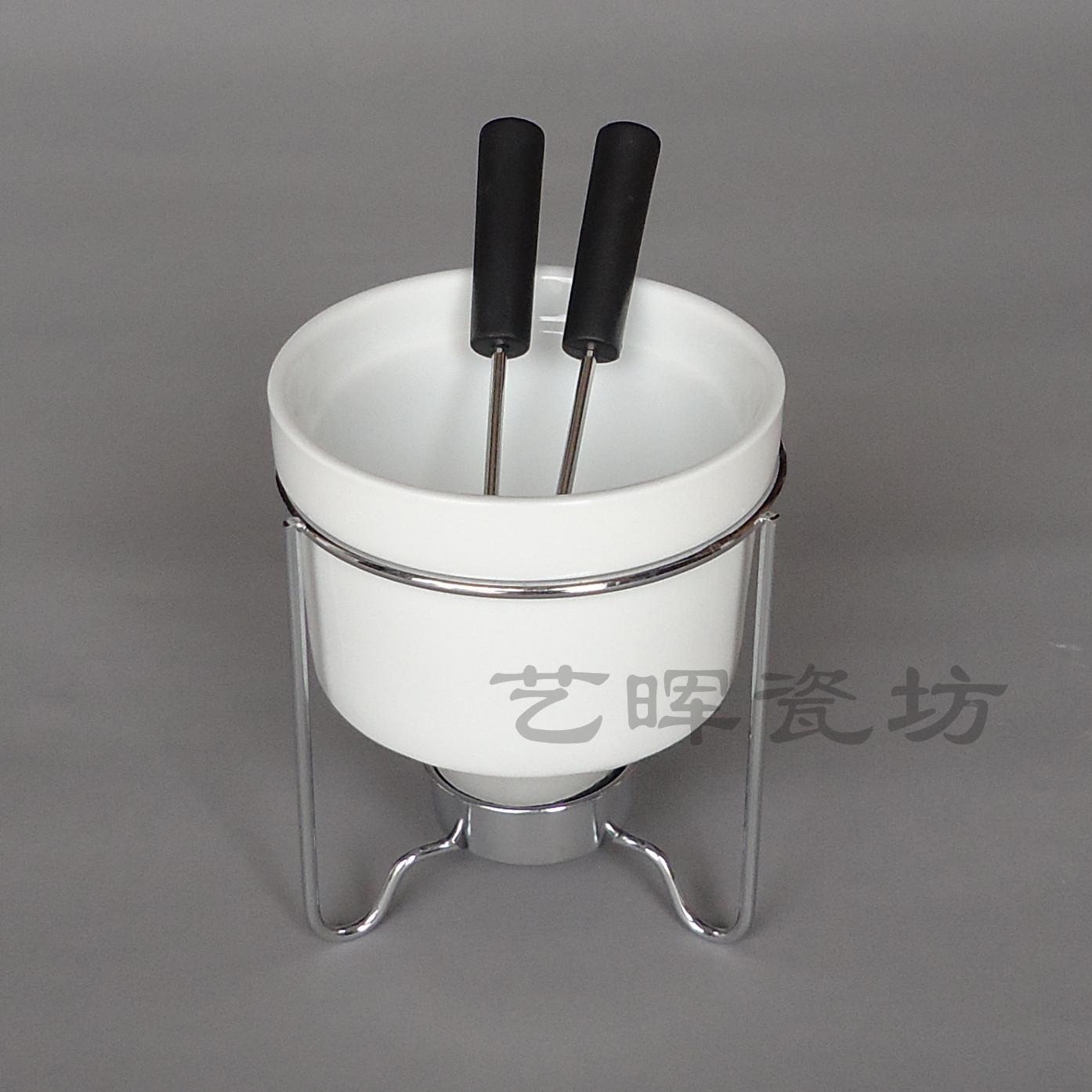 hei er verkauf neupreis gro handel porzellan schokolade k se fondue set china mainland. Black Bedroom Furniture Sets. Home Design Ideas