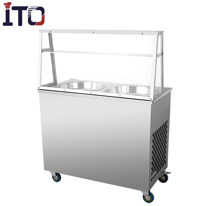 ITO-RI-A22 Thailändische Eiscremeform-Rollenmaschine