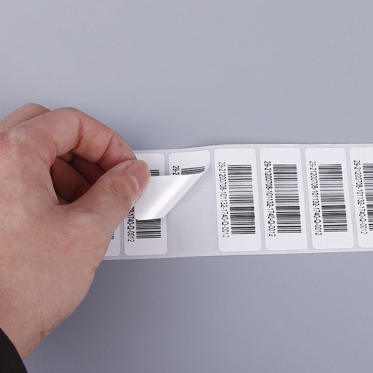 Self adhesive sticker label, easy remove sticker, keyboard sticker for Barcode Scanner