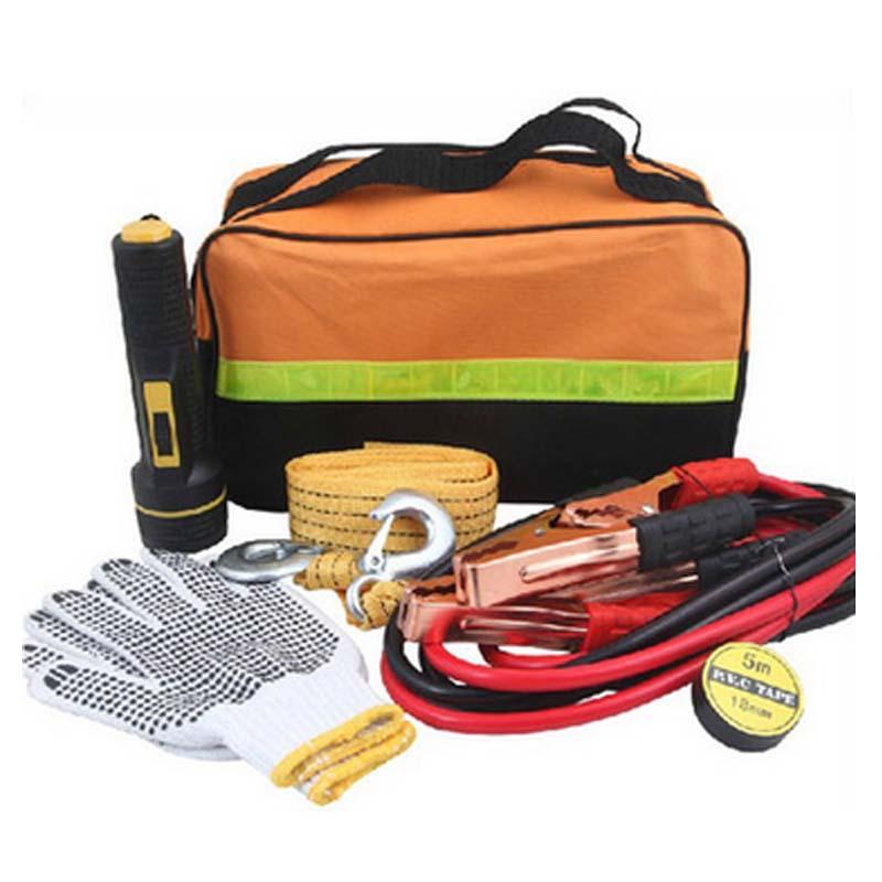 5 шт./компл. буксировочный трос безопасности автомобиля аварийный комплект для вождения аварийно-спасательных