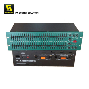 FCS966 Dual 30 Professional Sound Band Graphic Equalizer