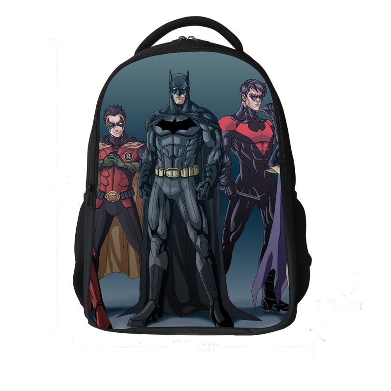 Get Quotations · free shipping Batman backpack cartoon bag children school  bags for boys school backpacks kids backpack school fcce3438f0daf