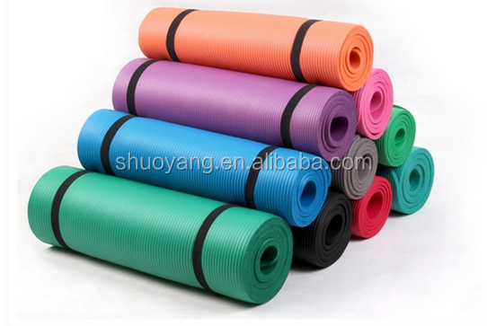 Shuoyang Wholesale custom gym home exercise yoga mat manufacturer