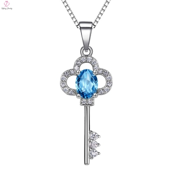 925 Sterling Silver Pendant Meaning Of Key Necklace - Buy 925 Sterling  Silver Pendant,Meaning Of Key Necklace,Silver Pendant Necklace Product on