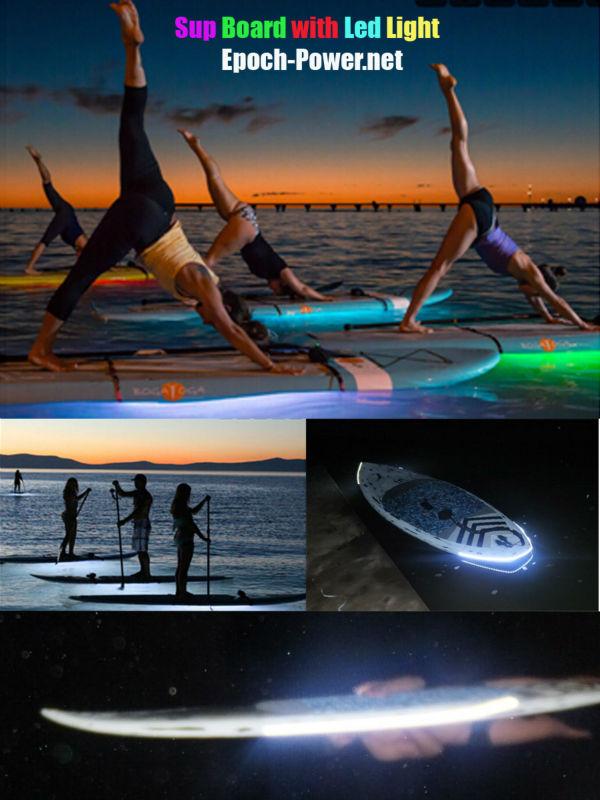Led Light Standup Paddle Board With Led Lights / Led Light ...