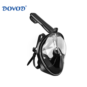 BSCI Snorkeling swimming masks for diving full face mask diving snorkel set with PATENT