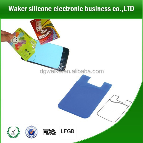 3M Adhesive Silicone Cell Phone Sticky card/money/key Pouch / Wallet / Card Holder